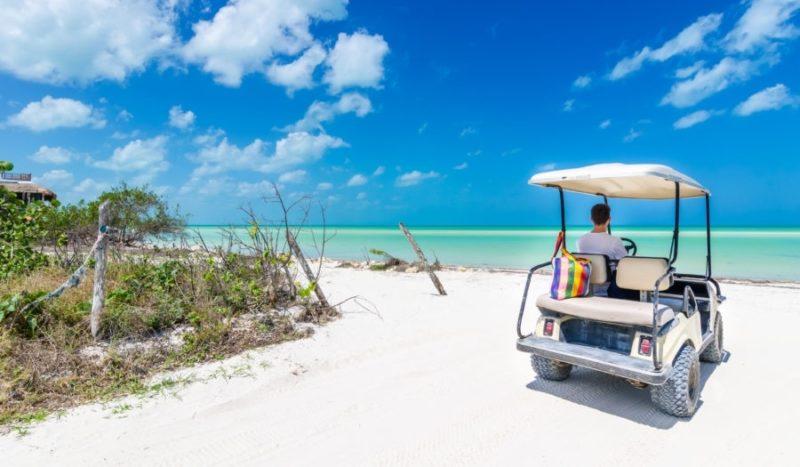 Golf carts in Grand Turk ⋆ Love 2 Cruise!
